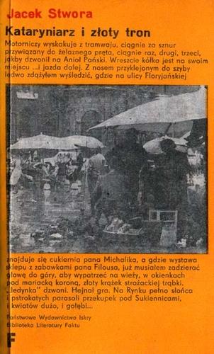 Znalezione obrazy dla zapytania Jacek Stwora Kataryniarz i złoty tron