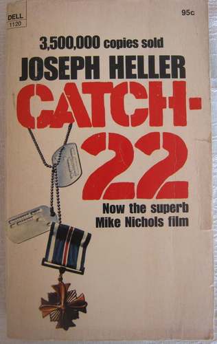 trying to understand catch 22 by joseph heller essay Free coursework on catch 22 paper from essayukcom, the uk essays company for essay, dissertation and coursework writing.