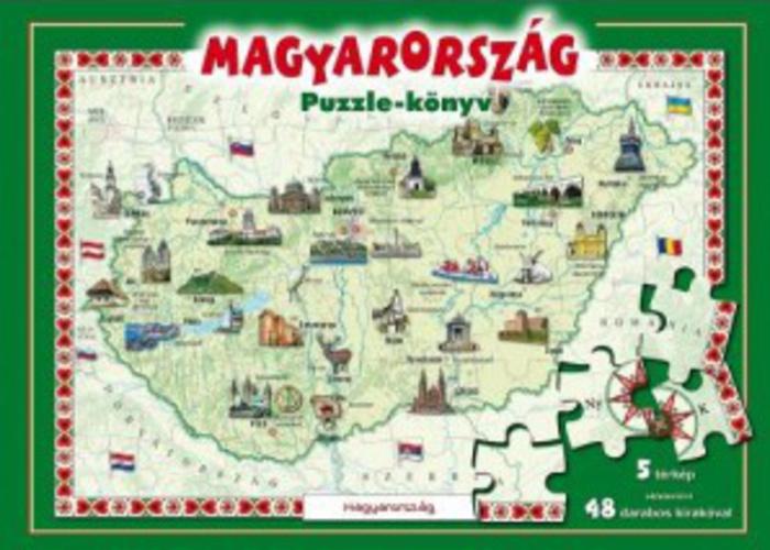magyarország látványosságai térkép Magyarország Puzzle könyv · Könyv · Moly magyarország látványosságai térkép