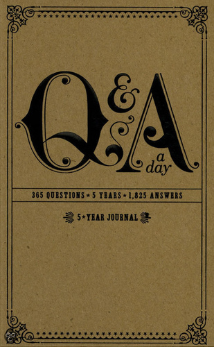 Q And A A Day 5 Year Journal Knyv Moly