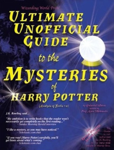 Harry Potter Book Cover Analysis : Ultimate unofficial guide to the mysteries of harry potter