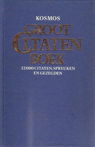 Citaten Uit De Aanslag : Groot citatenboek · bart de graaff szerk · könyv · moly