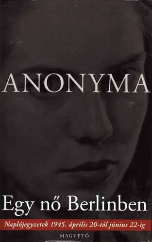 """Képtalálat a következőre: """"anonyma egy nő berlinben"""""""