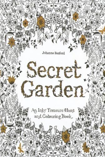 An Inky Treasure Hunt And Coloring Book Johanna Basford Secret Garden