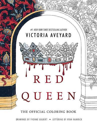 Red Queen Coloring Book Victoria Aveyard Konyv Moly