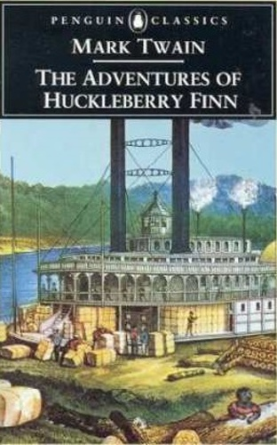hucks internal conflicts in the adventures of huckleberry finn a novel by mark twain Home book reviews the importance of the mississippi river in mark twain's huckleberry finn were what inspired the 1834 novel, the adventures of huckleberry finn.