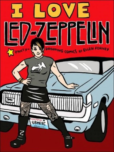 led zeppelin idézetek I Love Led Zeppelin · Ellen Forney · Könyv · Moly