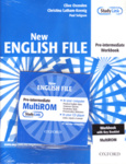 Clive Oxenden – Christina Latham-Koenig – Paul Sligson: New English File Pre-Intermediate Workbook with key