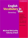 Michael McCarthy – Felicity O'Dell: English Vocabulary in Use – Elementary