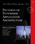 Martin Fowler: Patterns of Enterprise Application Architecture