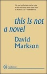 David Markson: This Is Not a Novel