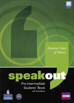 Antonia Clare – JJ Wilson: Speakout – Pre-intermediate – Students' Book