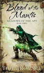 Adrian Tchaikovsky: Blood of the Mantis