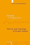 Willy van Langendonck: Theory and Typology of Proper Names