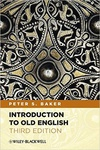 Peter S. Baker: Introduction to Old English