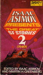 Isaac Asimov – Martin H. Greenberg (szerk.): Isaac Asimov Presents The Great SF Stories 2.