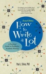 Paul J. Silvia: How to Write a Lot