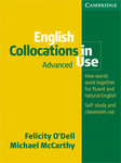 Michael McCarthy – Felicity O'Dell: English Collocations in Use Advanced