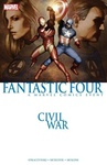 J. Michael Straczynski – Zeb Wells – Reginald Hudlin – Dan Slott: Civil War: Fantastic Four