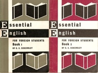 C. E. Eckersley: Essential English for Foreign Students I-IV.