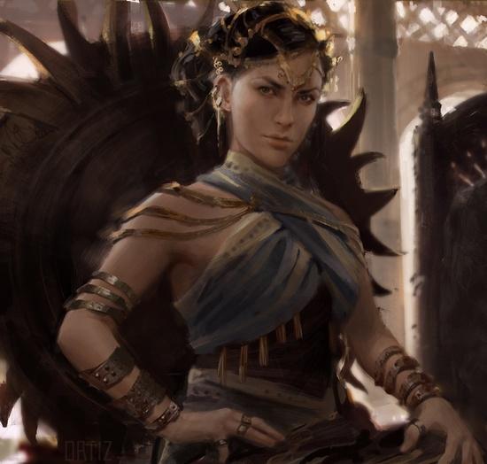 Princess Nymeria · Moly